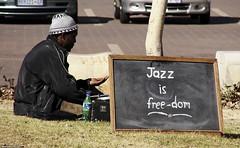 Jazz is free-dom