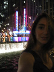 city lights / day 220 (express train) Tags: nyc selfportrait night midtown sp radiocity 365days