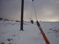 On the T-bar (blue_jelly_crystal) Tags: skiing benlomond