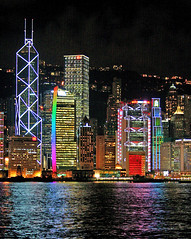 Hong Kong harbour view