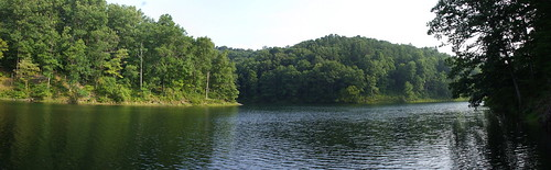Crooked Creek Lake Panorama