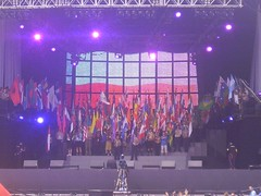 118 Jamboree UK - Ceremonia de inaguracion