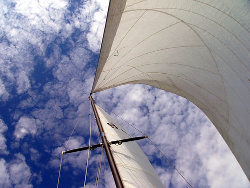 Sailing dreams, sky - photo