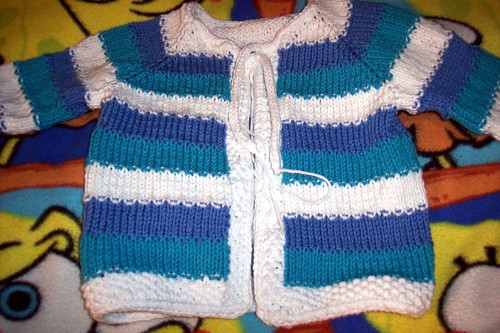 tulip baby sweater