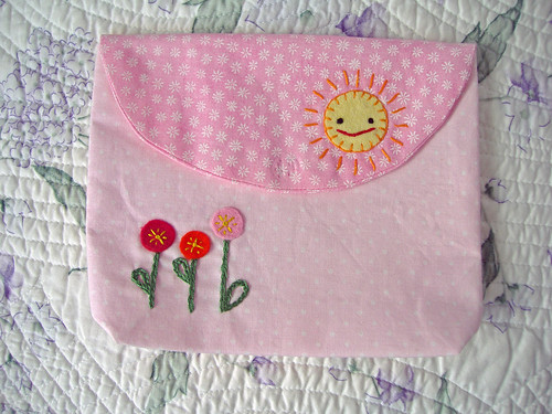 Pink Sunshine Pouch
