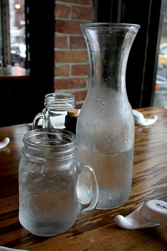Water mug and carafe