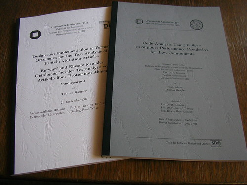 bound copy of dissertation