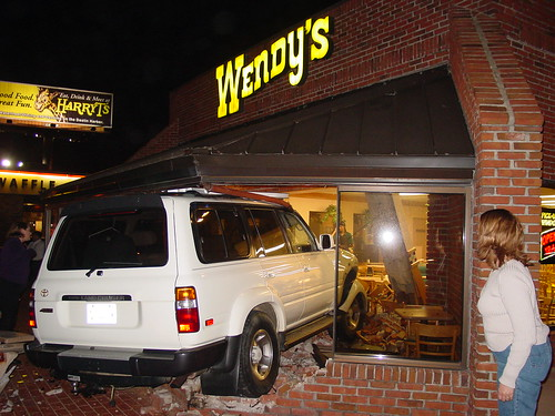 Wendys New Drive Thru