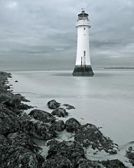 Lighthouse LARGE (mahonyweb) Tags: england lighthouse seaside peninsula wallasey wirral lightroom newbrighton merseyside thelastresort canon2470l newbrightonlighthouse liverpoolbay perchrocklighthouse canoneos1dsmarkiii canon1dsmarkiii