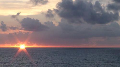 太平洋の初日の出