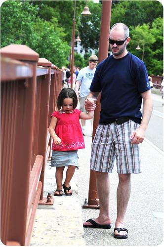 Stone arch bridge festival {father's day} 2010