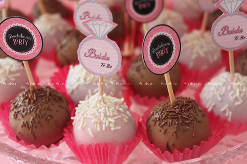 [ Bachelorette Party - Cake Balls ]