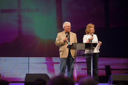 Ed & Cheryl at Sunday Service
