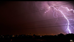 Lightning Strike (Robert Machado) Tags: sky night lightning