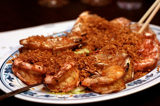 Ang Kah Hei Garlic Pepper Prawns