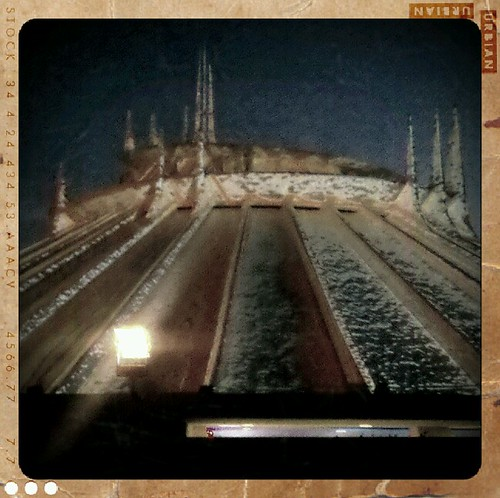 Frozen space mountain