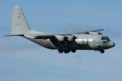 2010-10-17-003FD 84001 (BringBackEGDG) Tags: force air swedish exeter lockheed hercules c130e tp84