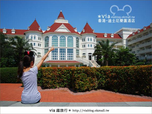 【香港住宿】跟著via玩香港(4)~迪士尼樂園酒店(外觀、房間篇)46