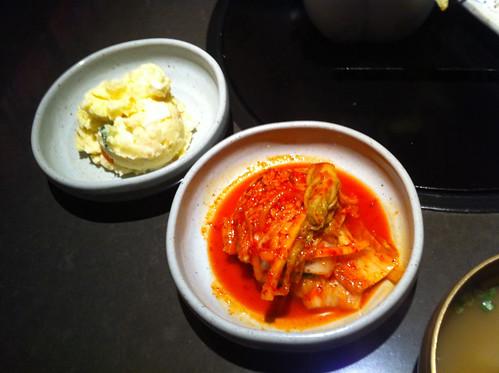 Kimchi & potato salad