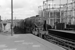 A Change Of Direction - 46118 (Sir Hectimere) Tags: trains steam railways steamtrains steamengines britishrailways railwayarchitecture steamlocomotives railtravel railwayhistory enginesheds britishsteam motivepowerdepots