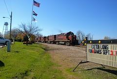 A&M Exeter (IndustRail) Tags: railroad ar diesel mo exeter 2009 alco monett arkansasmissouri c420 alcoc420