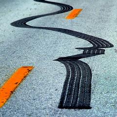 highway star (dbthayer) Tags: road ohio wow square topf50 topf75 track dof pavement rubber line explore blogged e500 interestingness48 i500