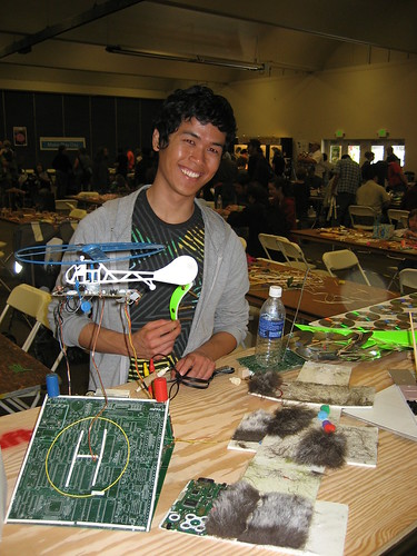 Francis at Maker Faire