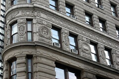 NYC - Flatiron Building (detail) by wallyg, on Flickr