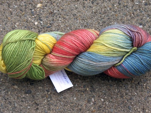 The Knittery merino/cashmere sock yarn