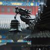 Taiqing Gong (NowJustNic) Tags: china rain temple nikon dragon bell bokeh raindrops 中国 qingdao laoshan shandong incenseburner 青岛 classtrip 寺庙 tsingtao 崂山 山东 d80 abigfave nikkor18135mm taiqingtemple taiqinggong