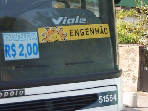 Ônibus para o Engenhão
