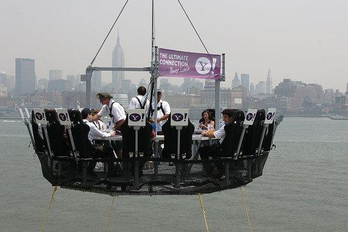 YSM Ultimate Connection Contest - A Table Suspended above NY Harbor