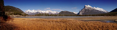 Vermilion Lakes and Mount Rundle, Banff (Hank888) Tags: banff mountrundle