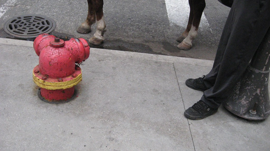 even firehydrants have limbs