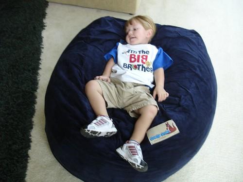 Cozy Sack 6 Feet Bean Bag Chair Large Earth Kitchen