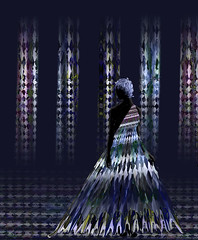 Digital Couture (Connie Krejci) Tags: woman abstract art fashion photoshop diamonds dress digitalart couture elegance curtaincall computercreations mywinners adobemasters diamondclassphotographer flickrdiamond artisticphotosworld photoshopisnotadirtyword blackribbonofbeauty