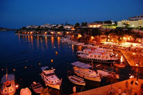 Lugares turísticos en Menorca