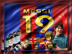 MESSI in my desgin