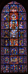 Los milagros de nuestra seora, Chartres (Francia) (gacg) Tags: francia vidrieras cienfuegos chartres germanalvarezdecienfuegosgalvez alvarezdecienfuegos alvarezcienfuegos
