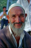 Uyghur Man, Near Kashgar 1998 (peace-on-earth.org) Tags: china highway xinjiang karakoram kashgar uyghur