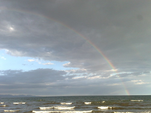 Clouds, Sky, Sea, Rainbow, ...
