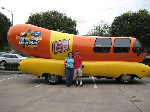 The Oscar Mayer WeinerMobile