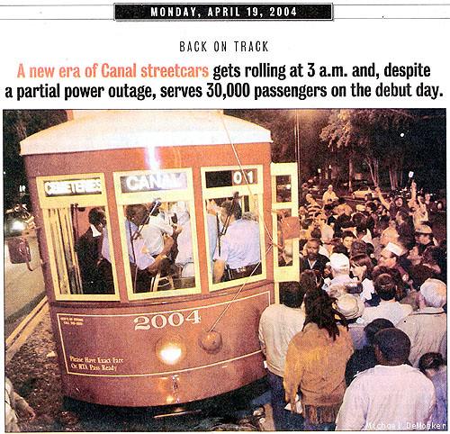 Streetcar Debut