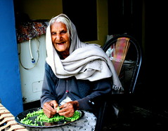 Lady of Wisdom (Manny Pabla) Tags: old people woman india senior lady asia grandmother indian aunt age desi peas oldlady oldwoman shawl veggie wisdom sikh punjab pea oldage punjabi northindia kaur greenpeas splitpeas saini pabla nawanshahr badwal rurkikhas splittingpeas ladyofwisdom