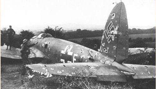 Crashed Heinkel