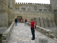 Castelo Sao Jorge (switchhook) Tags: vacation honeymoon lisbon kirsten sep8