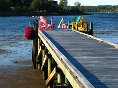 If you haven't got a deck, get a dock! (Nancy Rose) Tags: ocean flowers dock chairs soe blueribbonwinner piratetreasure supershot platinumphoto citrit bicul excapture theperfectphotographer