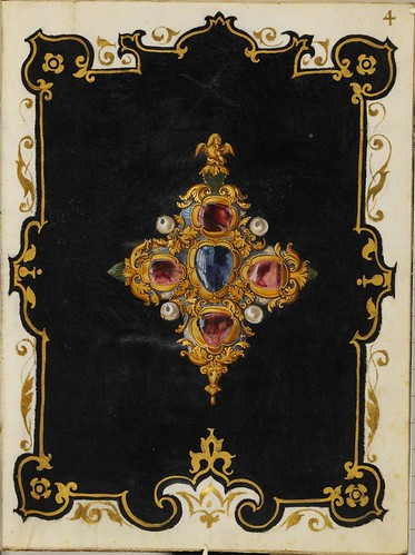 Jewel Book of the Duchess Anna of Bavaria (1550s) a