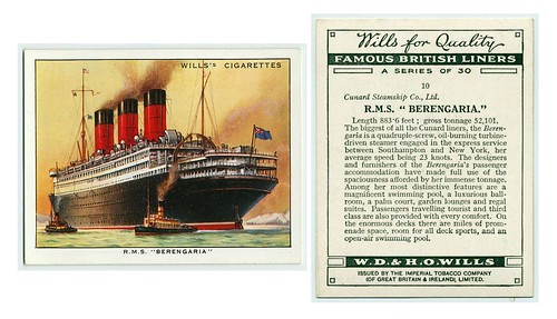 021-Famous British liners- (ca. 1922-1939)