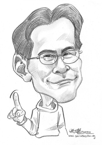 caricature for Hello Technology - 5